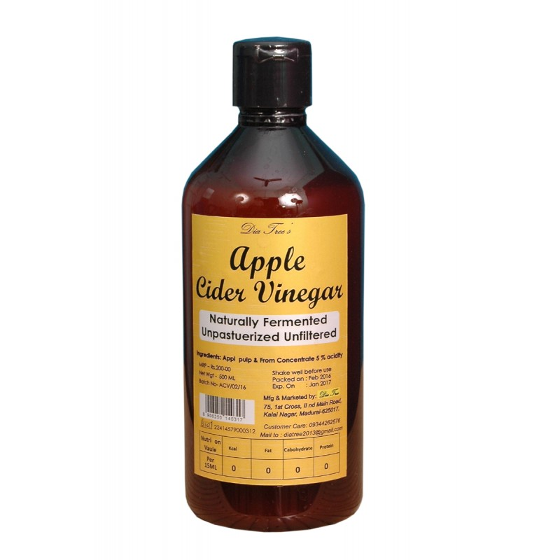 Apple Cider Vinegar (500mL) BODY & SKIN CARE