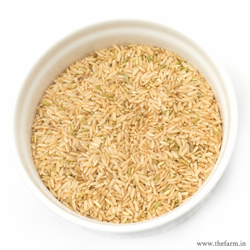 Hand Pounded Rice 1Kg  RICE & MILLETS