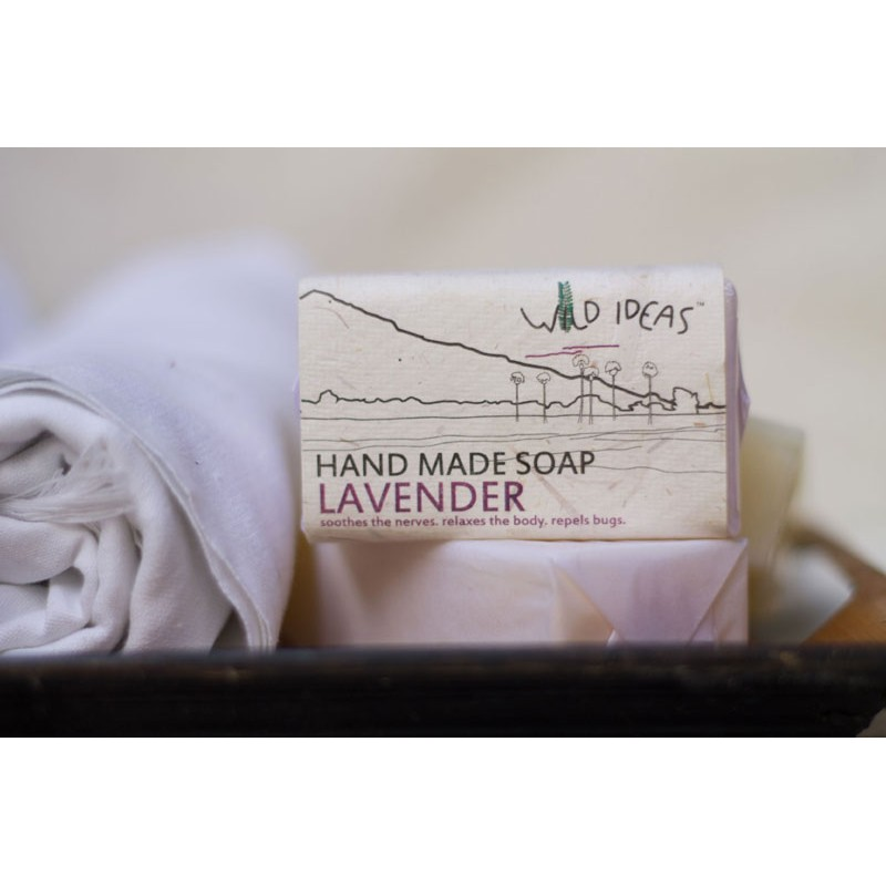 HAND MADE SOAP LAVENDER  BODY & SKIN CARE