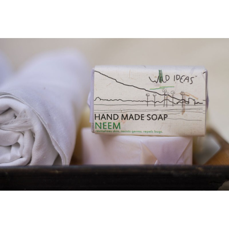 HAND MADE SOAP NEEM 100G BODY & SKIN CARE