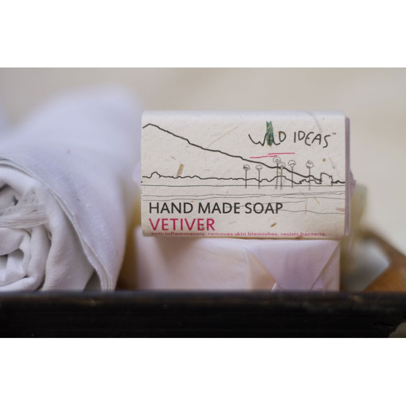 HAND MADE SOAP VETIVER 100G BODY & SKIN CARE