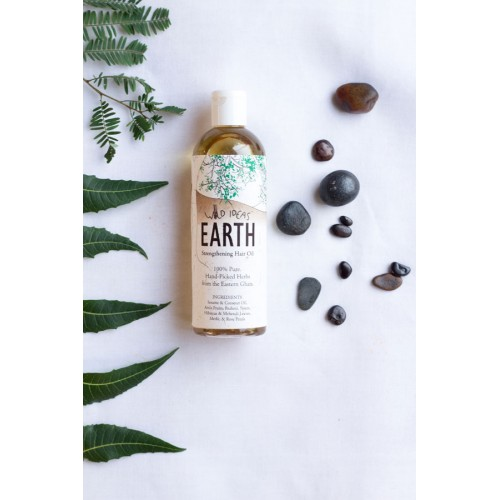 EARTH STRENGTHENING HAIR OIL 200ML BODY & SKIN CARE