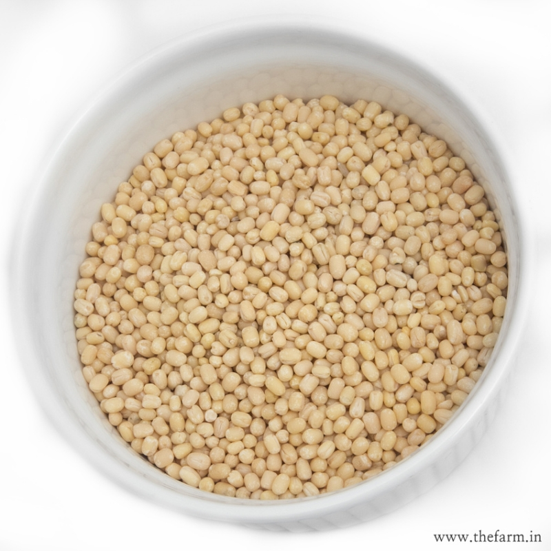 White Urad Dal (whole) 500g  DALS