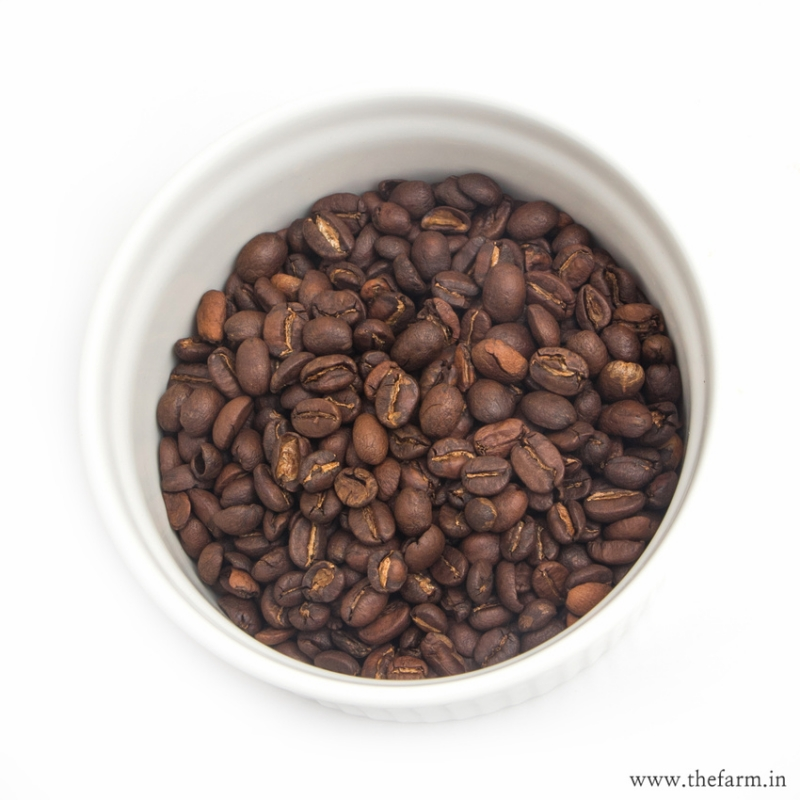 ORGANIC ROASTED ARABICA COFFEE (BEANS 200g)