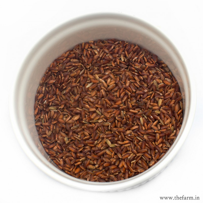 ORGANIC RED RICE 1KG RICE & MILLETS